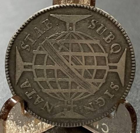 Catálogo Vieira Nº 257 320 Réis 1787 Coroa alta - Numismática Vieira