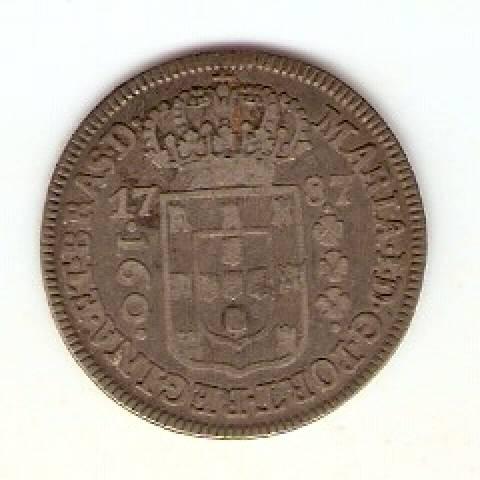 Catálogo Vieira Nº 246 160 Réis 1787 - Numismática Vieira