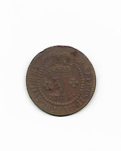 Catálogo Vieira Nº 196 V Réis 1774. - Numismática Vieira