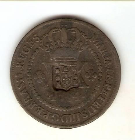 Catálogo Vieira Nº 245 XX Réis c/c Escudete 1784. - Numismática Vieira