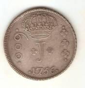 Catálogo Vieira Nº 88 600 Réis 1756B - Série J