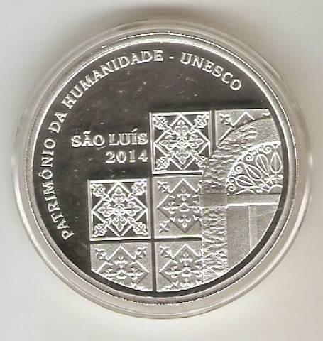 Catálogo Vieira Nº 621 - 5 Reais (São Luis - Patrimônio da Humanidade - Unesco) - Numismática Vieira