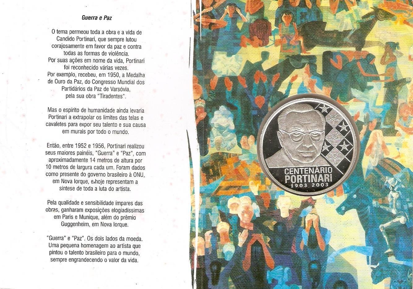 Catálogo Vieira Nº 607 Homenagem a Portinari - Numismática Vieira