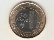 Moeda de Um Real Comemorativa aos 50 anos do Banco Central do Brasil