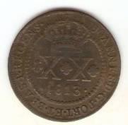 Catálogo Vieira Nº 394 - XX Réis 1813R