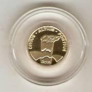 Moeda de Ouro Comemorativa aos Jogos Olímpicos e Paralímpicos de 2016 - Tocha Olímpica