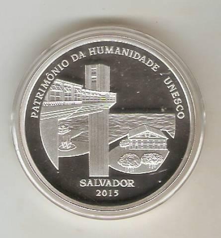 Catálogo Vieira Nº 622 - 5 Reais Salvador (Patrimônio da Humanidade - Unesco) - Numismática Vieira