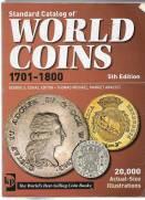 Catálogo World Coins 5º Edição Período - 1701 a 1800