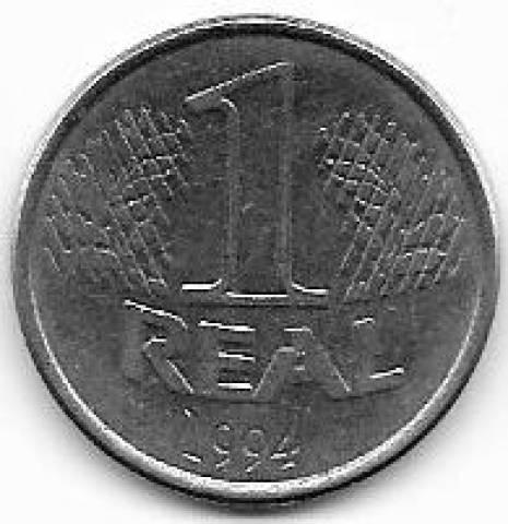 Catálogo Vieira Nº 17 1 Real 1994 - Numismática Vieira