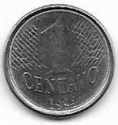 Catálo Vieira Nº 01 - 1 Centavo Real