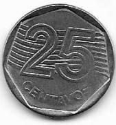 Catálogo Vieira Nº 13 - 25 Centavos - Plano Real | Numismática Vieira