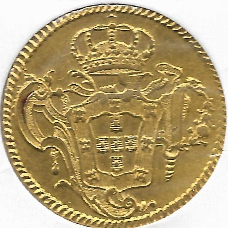 Catálogo Vieira Nº 301 - 6.400 Réis 1775R - Numismática Vieira