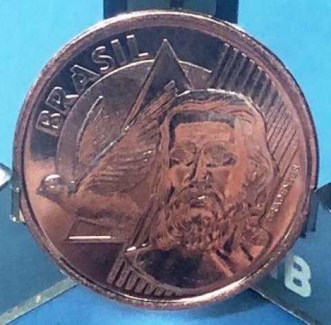 Catálogo Vieira Nº 27 - 5 Centavos Segunda Família do Real. - Numismática Vieira