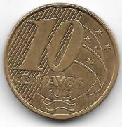 Catálogo Vieira Nº 45 - 10 Centavos Segunda Família do Real.