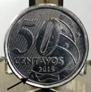 Catalogo Vieira No 81   50 Centavos Segunda Familia do Real