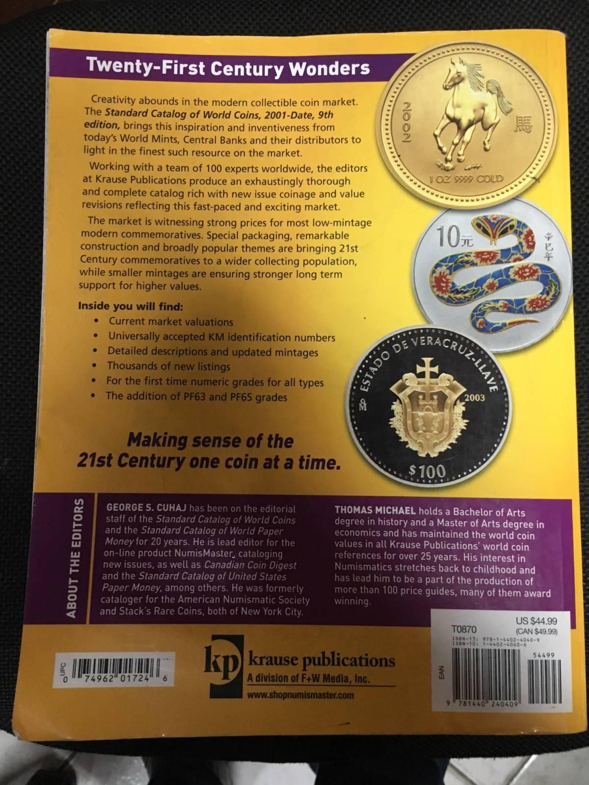 Catálogo World Coins 9º Edição 2015 Período - 2001 a Present. - Numismática Vieira