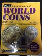 Catálogo World Coins 9º Edição 2015 Período - 2001 a Present.