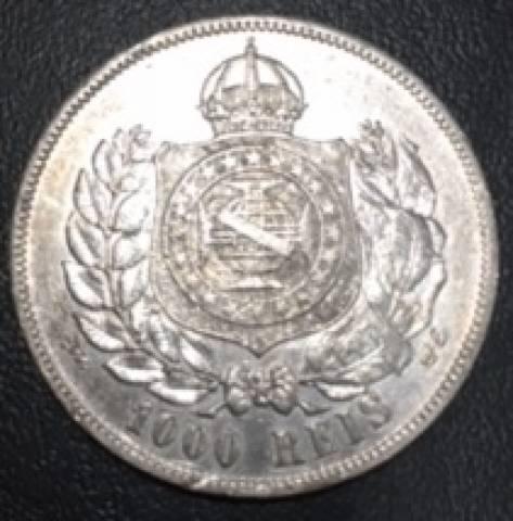 Catálogo Vieira Nº 513 - 1000 Réis 1869 - Numismática Vieira