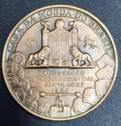 Medalha de Bronze   Inauguracao do parque industrial de Santa Cruz