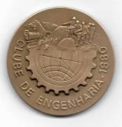 Medalha de Bronze - Centenário Clube de Engenharia