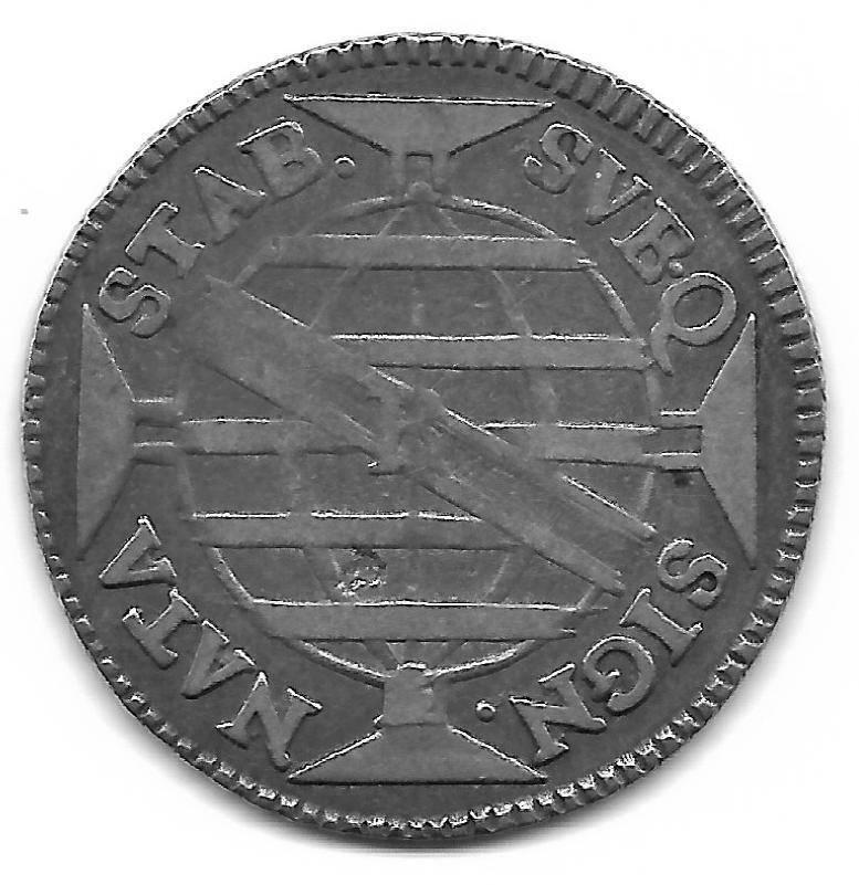 Catálogo Vieira Nº 170 - 300 Réis 1771R -