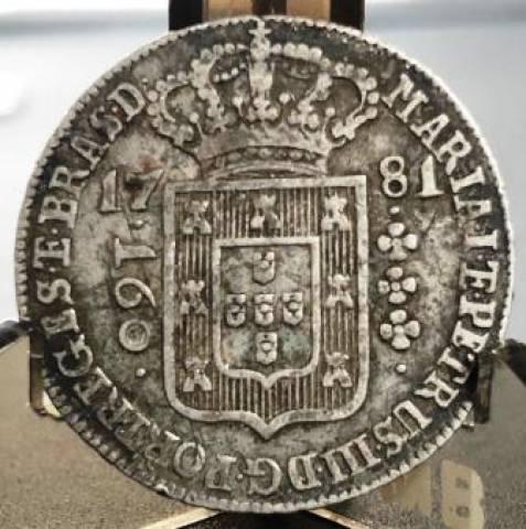 Catálogo Vieira Nº 233 - 160 Réis 1781 - Numismática Vieira