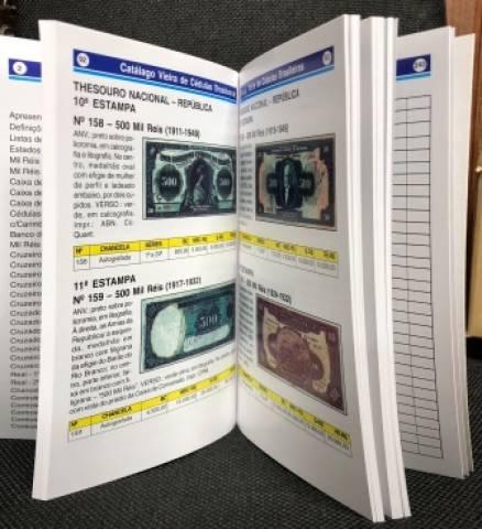 Catálogo Vieira de Cédulas Brasileiras - 8º Edição 2022 - Numismática Vieira