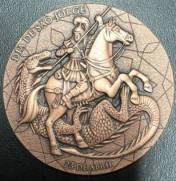 Medalha Comemorativa Homenagem a São Jorge