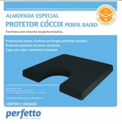 Almofada Soft Latex Protetor do Cóccix - Orto Curitiba