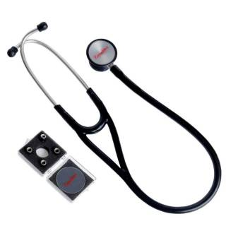 Estetoscópio Cardiológico Premium Preto