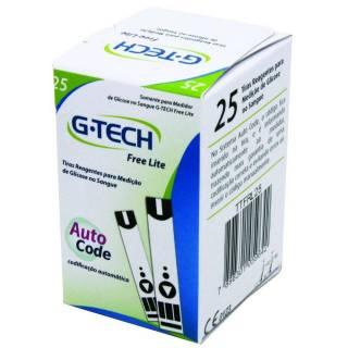 Tiras Reagentes G-Tech Free Lite