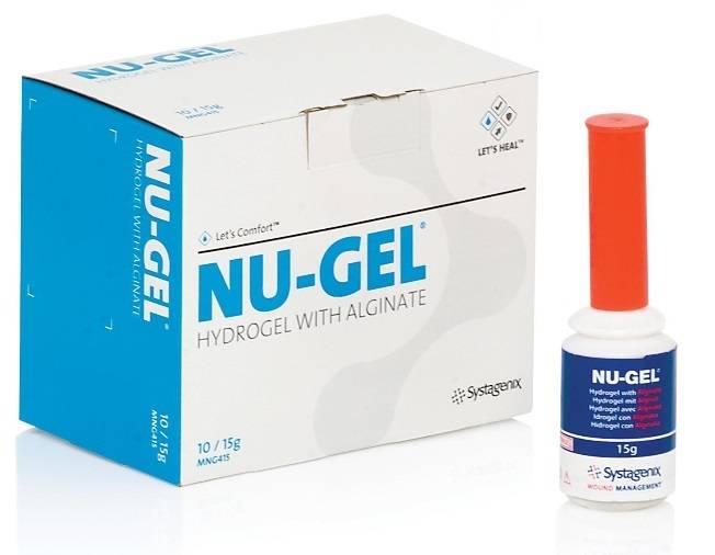 NuGel Hidratante com Alginato e Cálcio 15gr - Orto Curitiba