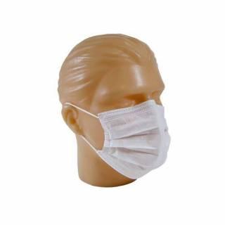 Máscara Descartável Tripla Com Elástico