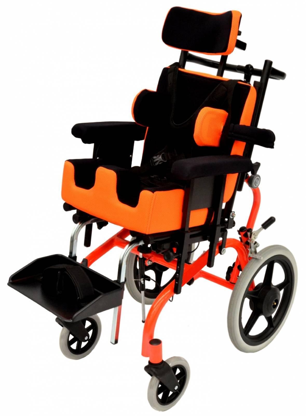 Cadeira De Rodas Prisma Laranja - Orto Curitiba