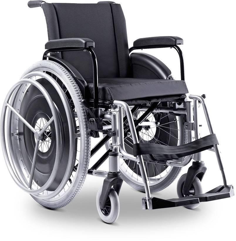 Cadeira De Rodas Avd Alumínio Hemiplégica - Orto Curitiba