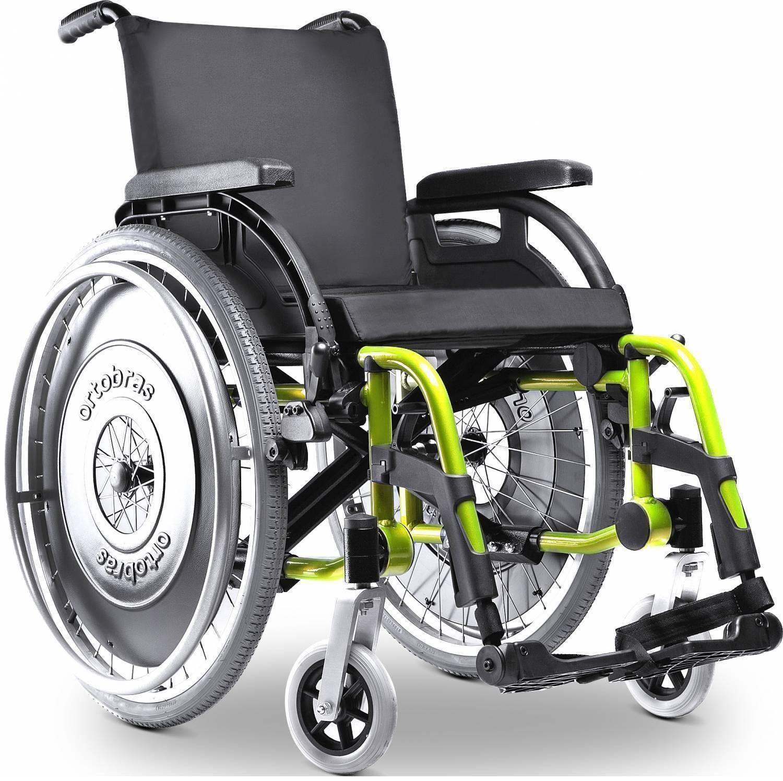 Cadeira De Rodas Alumínio K3 - Orto Curitiba