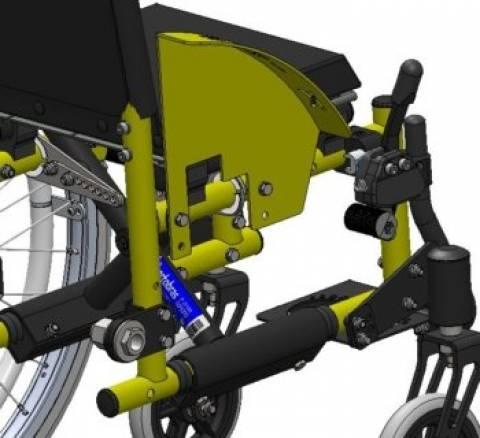 Cadeira De Rodas Mini K - Orto Curitiba