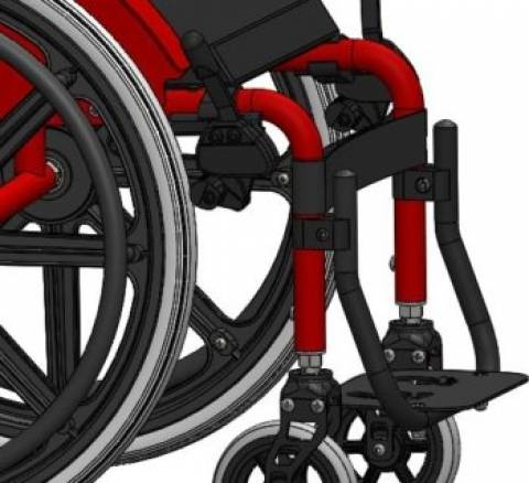 Cadeira De Rodas Mini M - Orto Curitiba