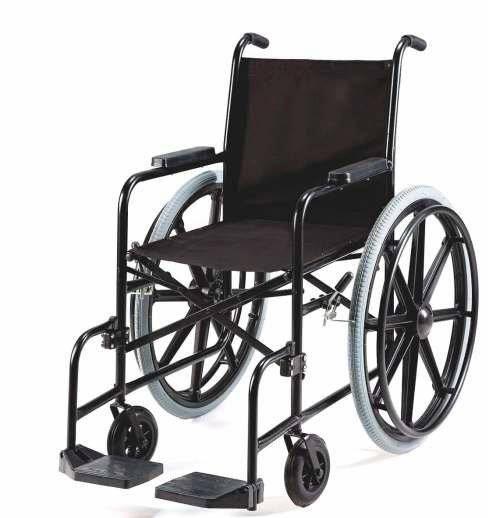 Locação De Cadeira De Rodas Simples Pneu Maciço - Orto Curitiba