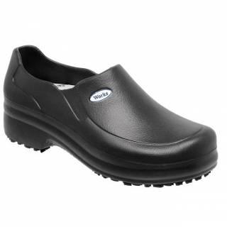 Sapato Fechado Soft Works Preto