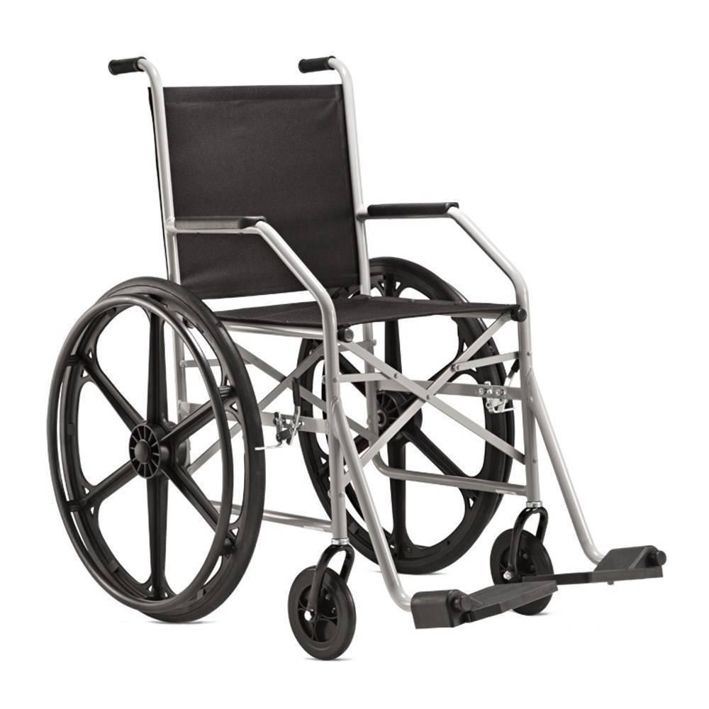 Cadeira De Rodas 1009 Pneu Inflável - Orto Curitiba