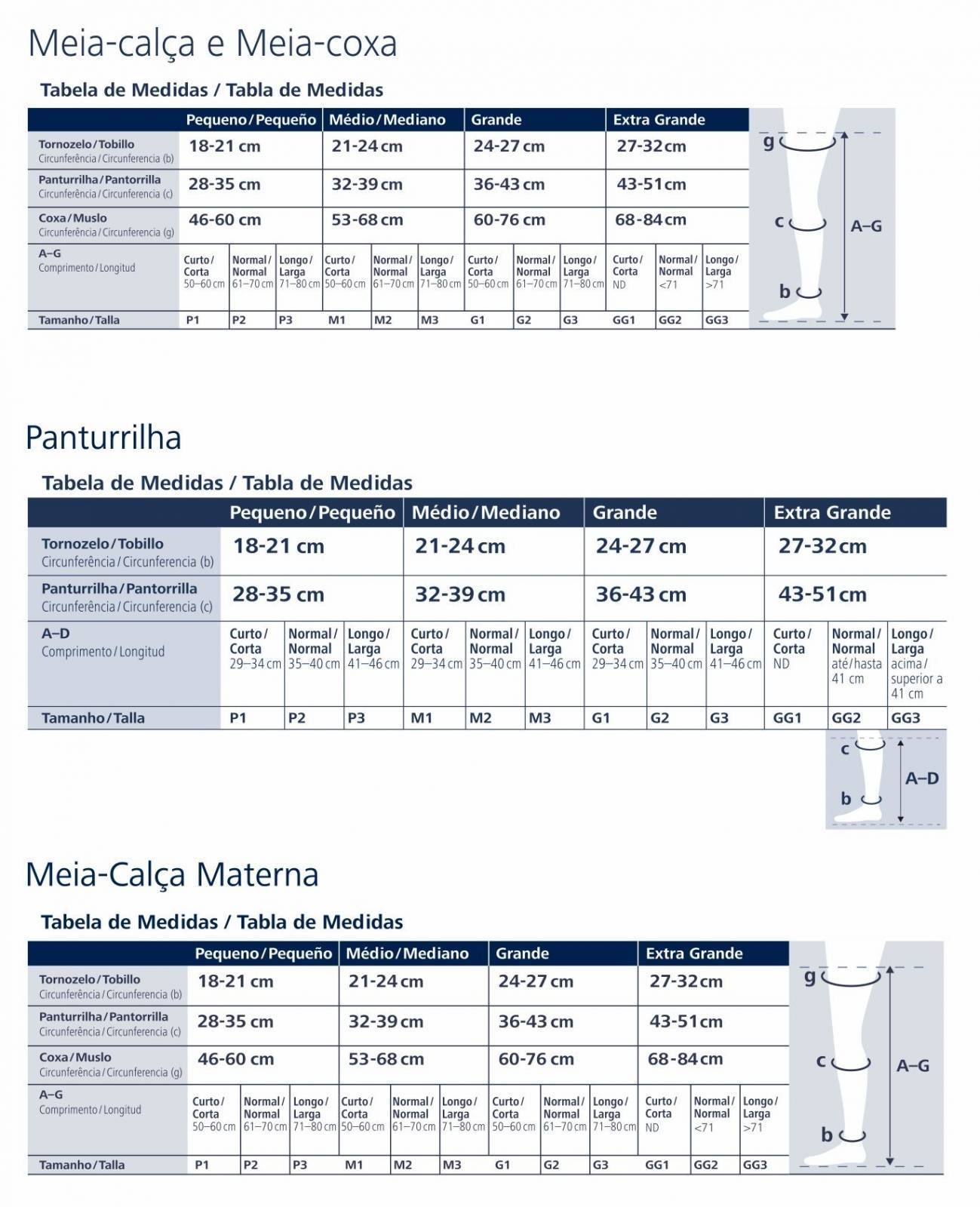 Meia Calça De Compressão 30-40 mmHg Materna Sigvaris Select  - Orto Curitiba