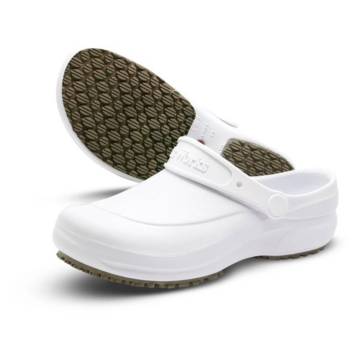 Sapato Profissional Soft Works Branco - Orto Curitiba