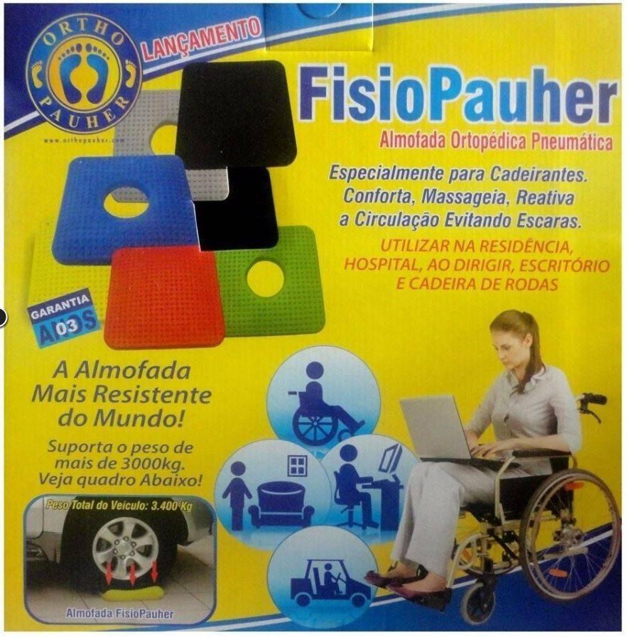 Almofada Ortopédica Fisiopauher  - Orto Curitiba