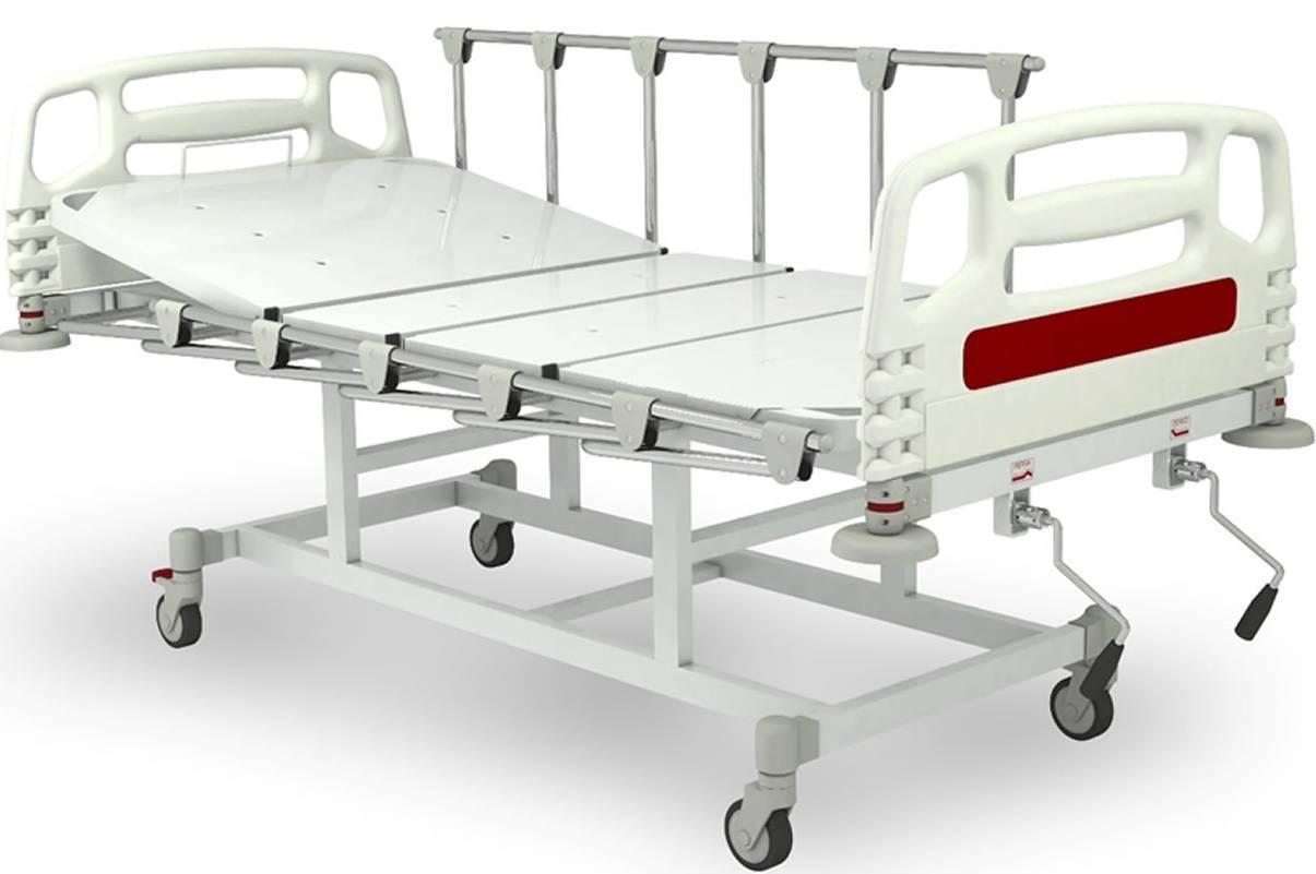 Cama Hospitalar Manual sem Elevação GM-9325 - Orto Curitiba
