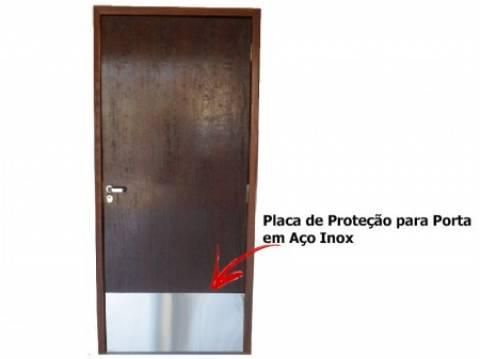 Placa De Impacto Inox - Orto Curitiba