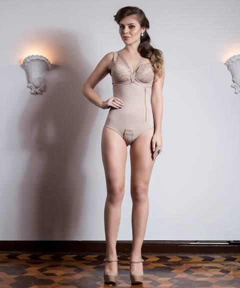 Cinta Modeladora Com Zíper - Orto Curitiba
