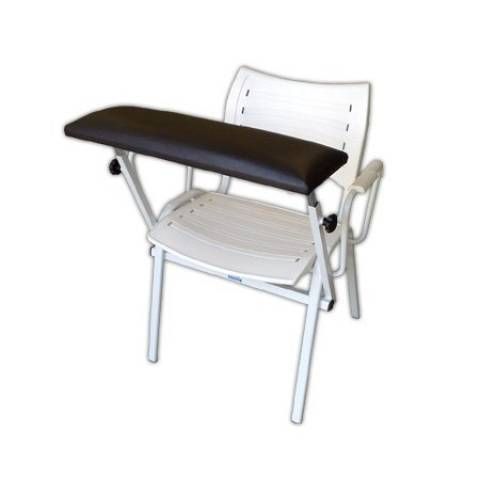 Cadeira Para Coleta Assento e Encosto Plástico - Orto Curitiba