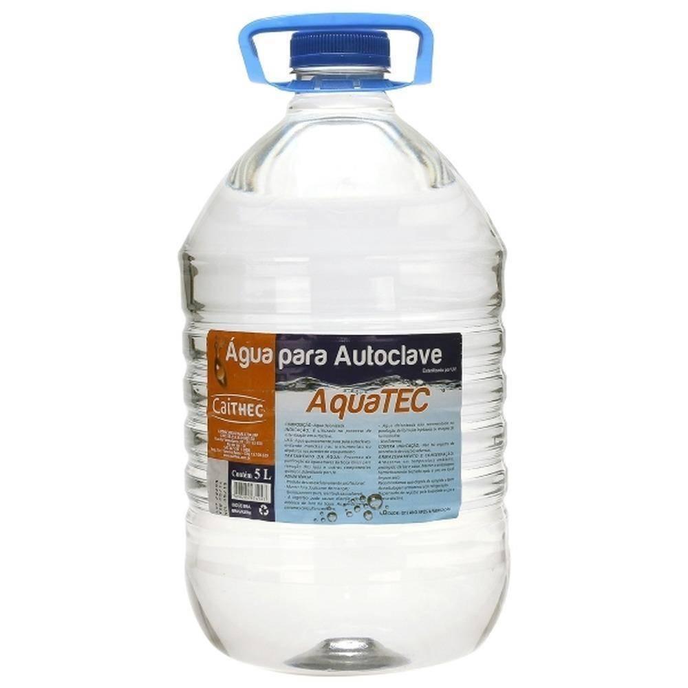 Água Para Autoclave 5L Aquatec - Orto Curitiba