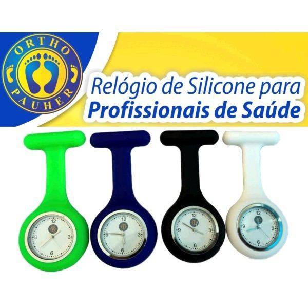 Relógio De Silicone Para Profissionais De Saúde - Orto Curitiba